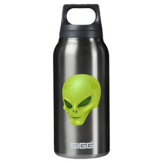 Green Alien Head Thermos Bottle