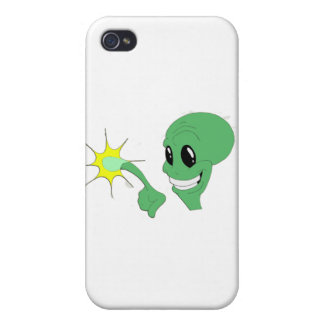 Green Alien iPhone 4/4S Cover