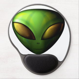 Green Alien Mouse Pad Gel Mouse Pad