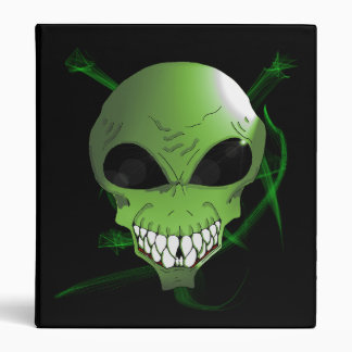 "Green Alien One Touch EZD™ Ring 1"" Binder"