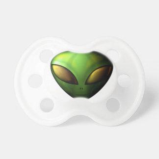 Green Alien Pacifier