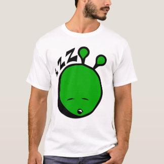 Green alien sleepy T-Shirt