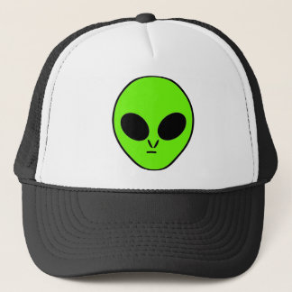 Green Alien Trucker Hat