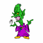 green alien wizard.png photo cut outs