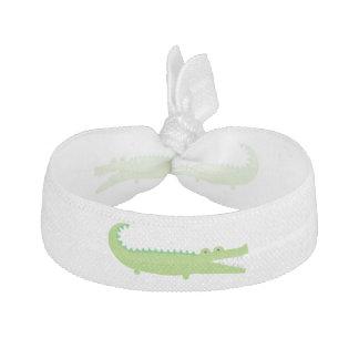 Green Alligator Hair Tie