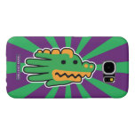 Hand shaped Green Alligator Powerful Jaws Samsung Galaxy S6 Case