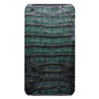 Green Alligator Skin iPod Touch Case-Mate