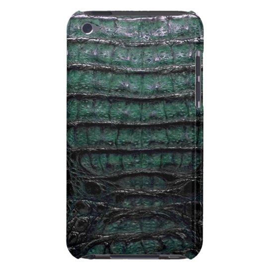 Green Alligator Skin iPod Touch Case-Mate