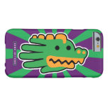 Hand shaped Green Alligator Super Jaws Barely There iPhone 6 Case