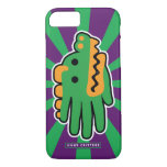 Hand shaped Green Alligator Super Jaws iPhone 8/7 Case