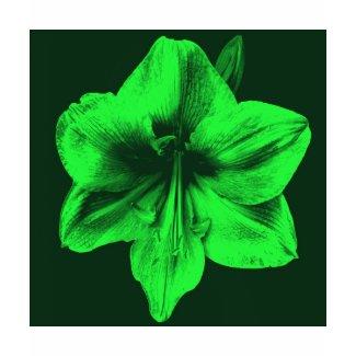 Green Amaryllis zazzle_shirt