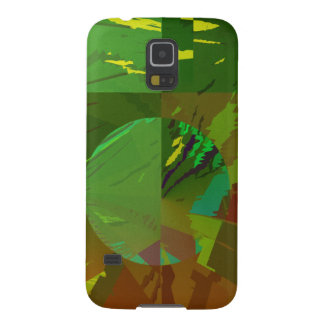 Green Amazon Abstract Galaxy S5 Cover