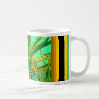 Green American Agave cacti Gifts by Sharles Coffee Mug