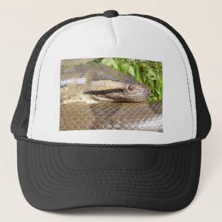Green Anaconda Trucker Hat