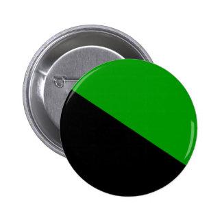 Green Anarchist flag button