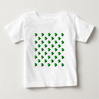 Green and Black Diamond Shaped Kites Pattern Shirts