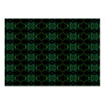 Green and black floral pattern. business card templates