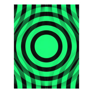 green_and_black_interlocking_concentric_circles flyer