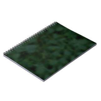 Green and Black Mottled Notebook