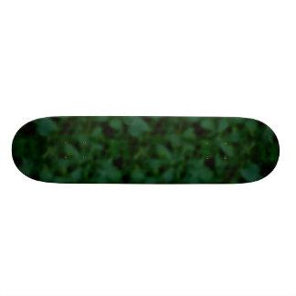 Green and Black Mottled Skateboard