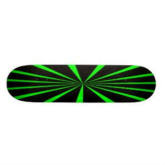 GREEN AND BLACK RETRO SKATEBOARDS