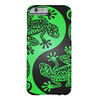 Green and Black Yin Yang Geckos Barely There iPhone 6 Case