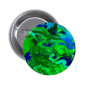 Green and blue abstract buttons