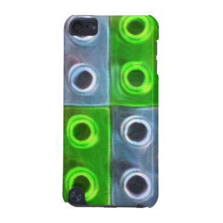 Green and Blue Building Blocks iPod Touch (5th Generation) Cover