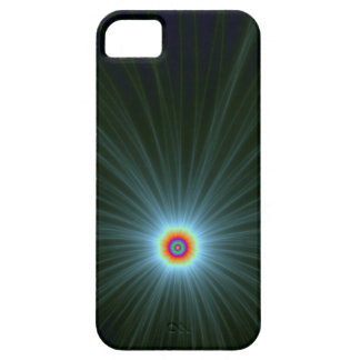 Green and Blue Color Explosion iPhone 5 Case