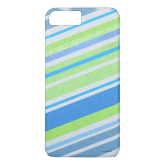 Green and blue lists iPhone 7 plus case