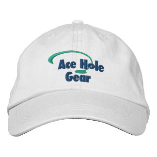 Green and Blue Logo Embroidered Hat