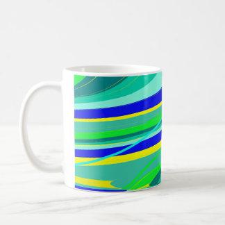 Green and Blue Mug