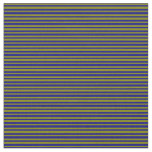 [ Thumbnail: Green and Blue Pattern Fabric ]