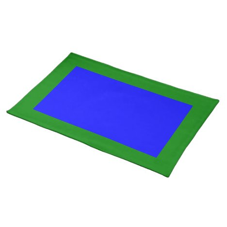 Green and Blue Placemat