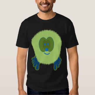 Green and Blue Pom Pom Pal Shirt