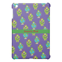 Green and Blue School Time iPad Mini Case