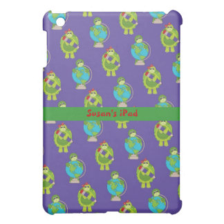 Green and Blue School Time iPad Mini Case