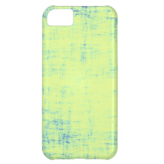 Green and Blue scratched iPhone 5C Covers