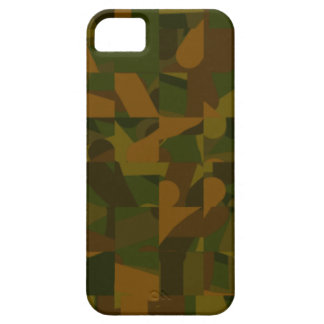 Green and Brown Camo, Abstract Pattern. iPhone 5 Cover