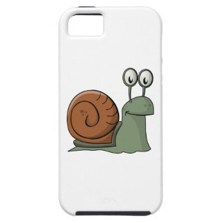 Green and Brown Cartoon Snail iPhone 5/5S Covers