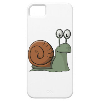 Green and Brown Cartoon Snail iPhone 5/5S Case