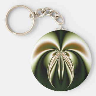 Green and Brown Key Chain