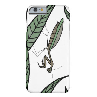 Green And Brown Praying Mantis On Green Leaves Barely There iPhone 6 Case