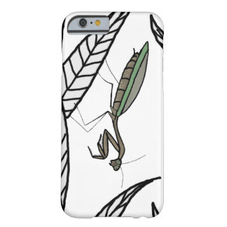 Green And Brown Praying Mantis On Leaves Barely There iPhone 6 Case