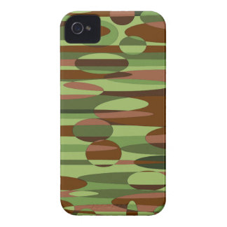Green and Brown Spheres Case-Mate iPhone 4 Case