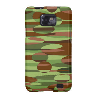 Green and Brown Spheres Galaxy S2 Case