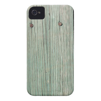 Green and Brown Wood Plank Walkway iPhone 4 Case