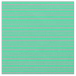 [ Thumbnail: Green and Dark Gray Colored Pattern Fabric ]