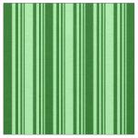 [ Thumbnail: Green and Dark Green Pattern Fabric ]