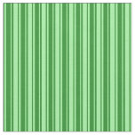 [ Thumbnail: Green and Forest Green Colored Pattern Fabric ]